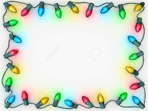 christmas lights borders christmas lights card and decore