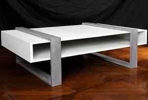 Table Basse En Beton : meubles en beton table basse sqkub modele design taporo meubles en ductal exclusivite taporo ~ Farleysfitness.com Idées de Décoration