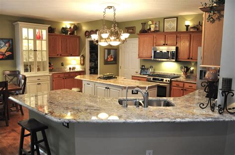 Kitchen Countertops Pictures Granite by 5 Favorite Types Of Granite Countertops For Stunning