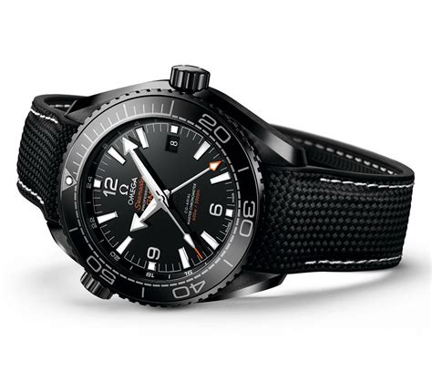 oceanictime omega seamaster planet 600m master chronometer black