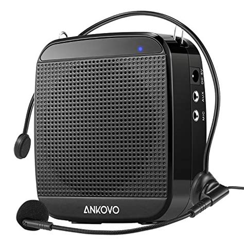 Ankovo Portable Rechargeable Voice Amplifier With Wired