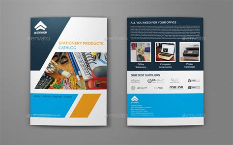 home design guys stationery products catalog bi fold brochure template by