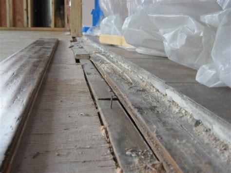 tile to wood transition uneven tile elevation