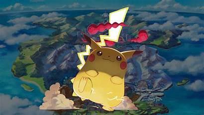 Pikachu Gigantamax Pokemon Sword Shield Cat