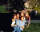 Actor Jeff Bridges With His Wife And Children High-Res ...