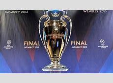 Londres recibe los trofeos de la Champions League UEFA