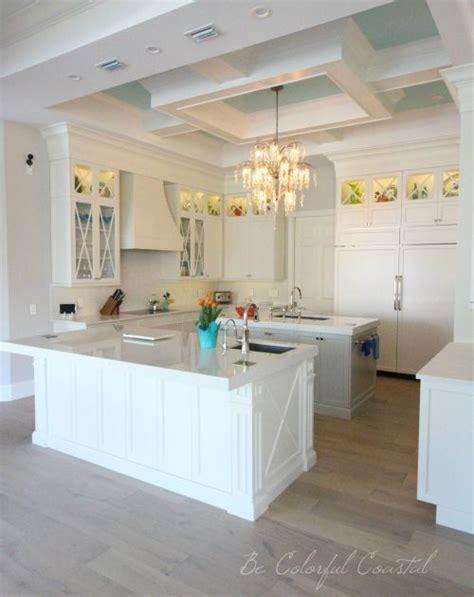 coastal kitchen mar 17 best ideas about coffered ceilings on wood 5506