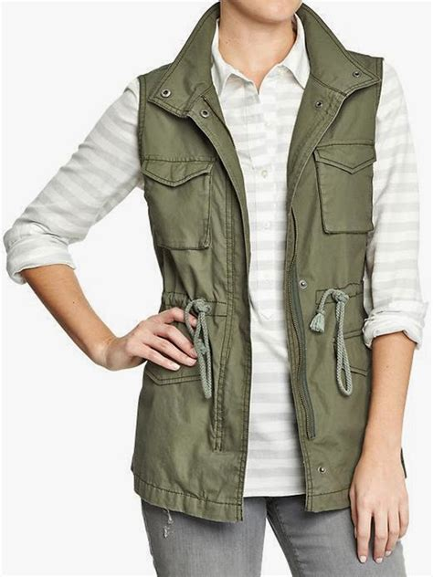 Need It Now Army Green Canvas Vest Style Your Senses