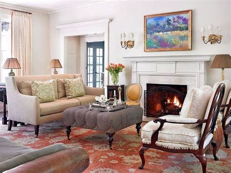 And After Charming 1920s Colonial by Colonial Interior Decorating Before And After
