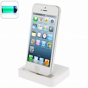 Dockingstation Iphone 5s : new desktop charging dock stand station charger for apple iphone 5 5s 5c white ebay ~ Orissabook.com Haus und Dekorationen