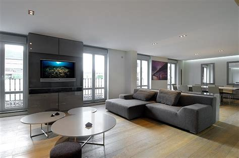 Modern Apartment : Modern Apartment Remodeled Interiors By A-cero