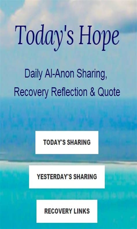 al anon doormat quote today s daily al anon recovery reflection quote appstore for android