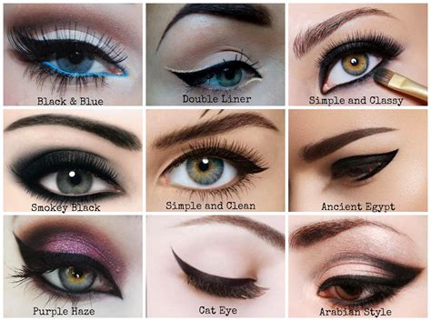 The Best Eyeliner Technique for Your Eye Shape 100FlavoursUK