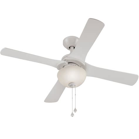 harbor aero ceiling fan manual shop harbor aero 42 in white downrod mount ceiling