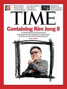 TIME Magazine Cover: Containing Kim Jong Il - June 22 ...