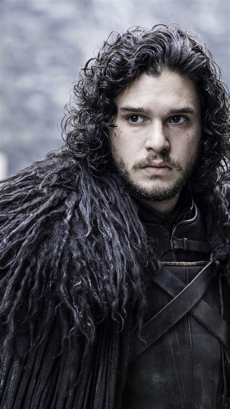 wallpaper jon snow kit harington game  thrones tv