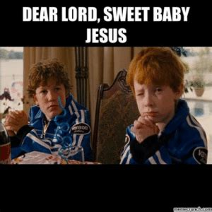 I like to party, so i like my jesus to party. Talledaga Nights Baby Jesus / 25 Best Memes About Talladega Nights Baby Jesus Meme Talladega ...
