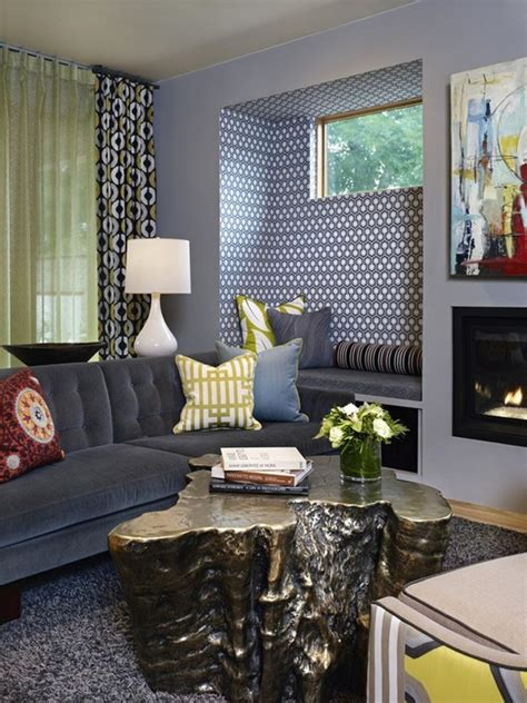 gorgeous living rooms  accent walls page
