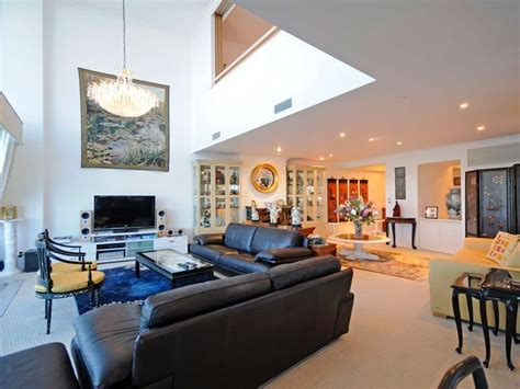 blue living room idea   real australian home living