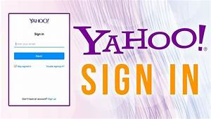 Yahoo Mail Login  Sign Up  U0026 Password Recovery