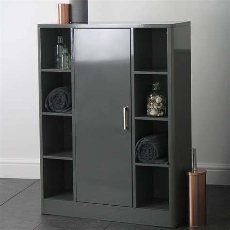 Grey Bathroom Cupboard bathroom storage cabinet cupboard unit grey house