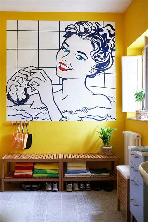 modern  flashy pop art inspired interior design