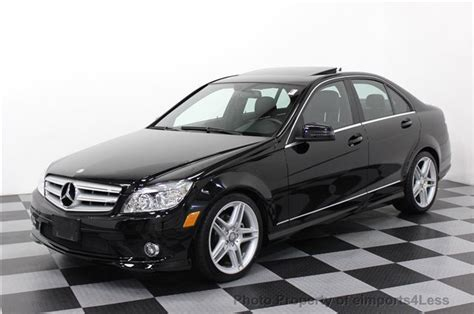 2010 Used Mercedes-benz C300 4matic Awd Amg Sport Package