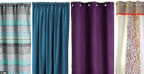 un rideau uni mais joliement color 233 des nouveaux rideaux