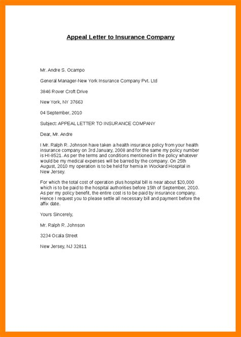 sample appeal letter  reconsideration appeal letter