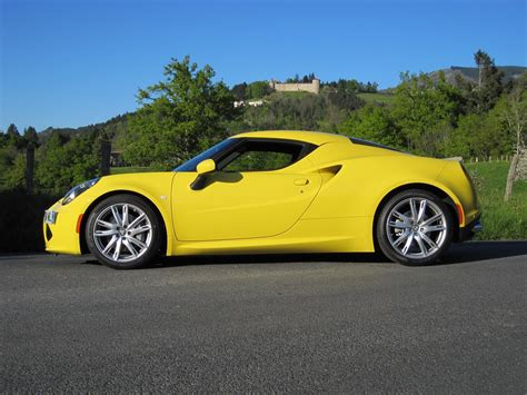 Yellow 4c Coupé In France