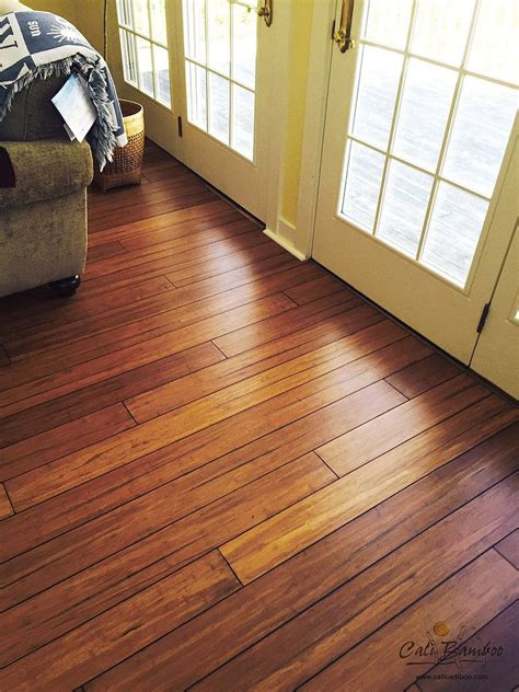 hand scraped bamboo floors  cali bamboo wide click