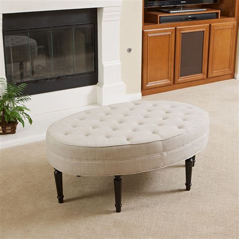 tufted leather ottoman coffee table leather tufted ottoman coffee table loccie better homes