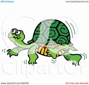 Turtle Walking Slowly By | Clipart Panda - Free Clipart Images
