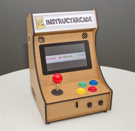 raspberry pi arcade cabinet plans mini pi powered arcade machine raspberry