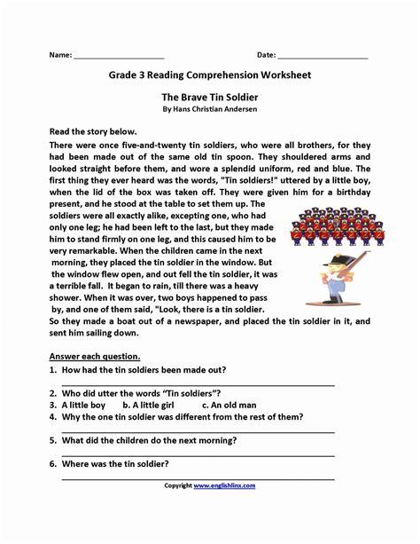 grade 3 reading comprehension worksheets pdf 2nd grade reading comprehension worksheets pdf