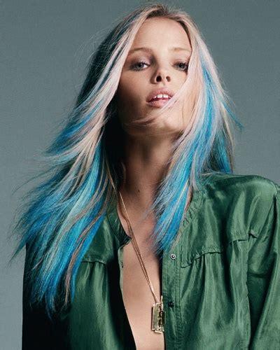 Blonde And Blue Hair Hair Colors Ideas