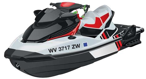 Jet Ski Boating License Virginia by Displaying The Registration Number And Validation Decals