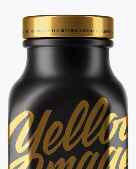 Low to high sort by price: Matte Drink Bottle Mockup in Bottle Mockups on Yellow ...