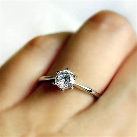 Rose Shaped Engagement Ring