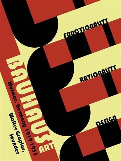 Bauhaus Poster Artists Famous Designs Typography Gropius
