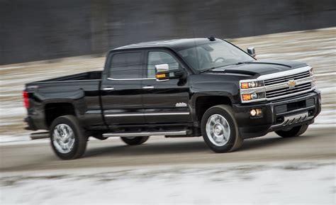 chevrolet silverado hd high country diesel test