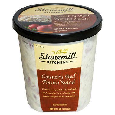 stonemill kitchens red potato salad  lb sams club