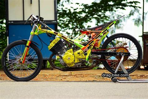 Drag Modifikasi Tercepat by 45 Foto Gambar Modifikasi Motor Satria Fu Drag Race Style