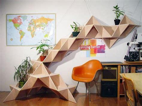 geometric shelves simple  eccentric  great