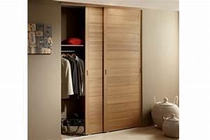 Guide Porte Coulissante Placard : porte coulissante placard le bois chez vous ~ Dailycaller-alerts.com Idées de Décoration