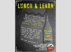 Lunch & Learn Healthy Lunch Ideas at Isabel & Roy Jodrey