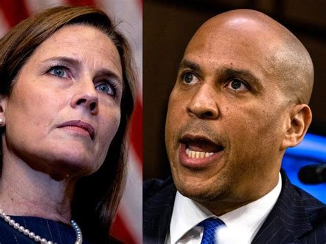 Cory Booker Called Amy Coney Barrett's Bluff on Racism ...