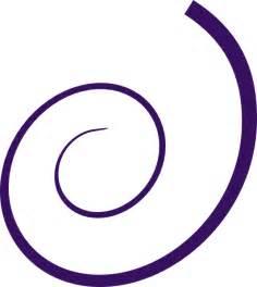 Simple Swirl Design Clip Art