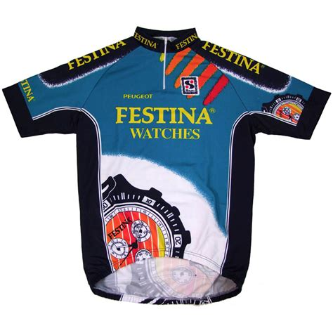 Peugeot Watches by Festina Watches Lotus Peugeot Sibille 1995 Team Jersey
