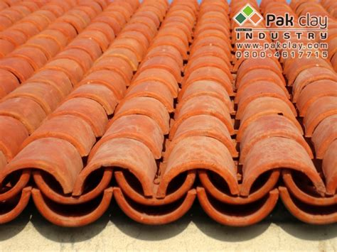 architectural design clay bricks khaprail roof tiles